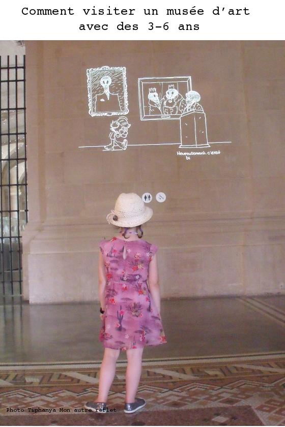 musée avec 3 - 6 ans