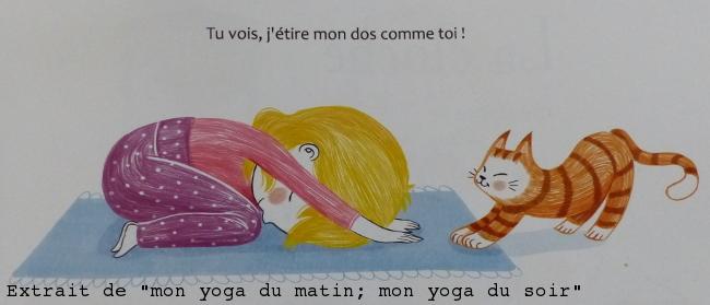 Faire du yoga à l'école