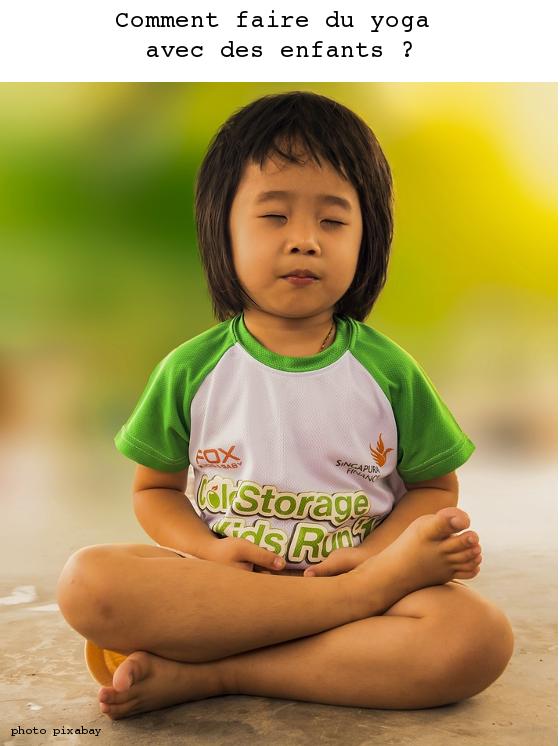 comment faire du yoga avec des enfants