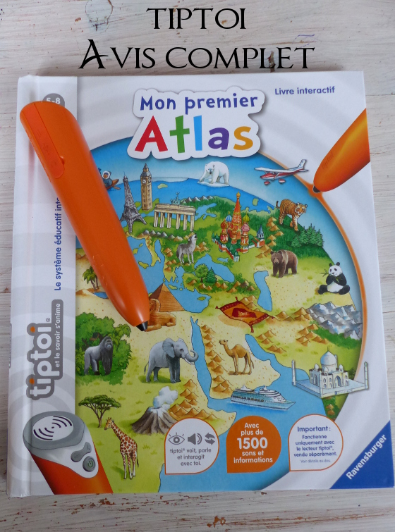 Tiptoi mon premier atlas avis complet
