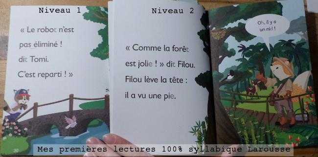 Premières lectures Larousse