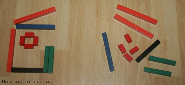 Cuisenaire et symétrie