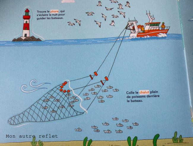 Livret autocollant sur les bateaux