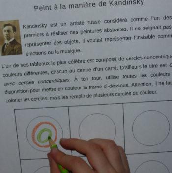 Kandinsky peintre russe