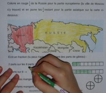 La Russie et les fractions