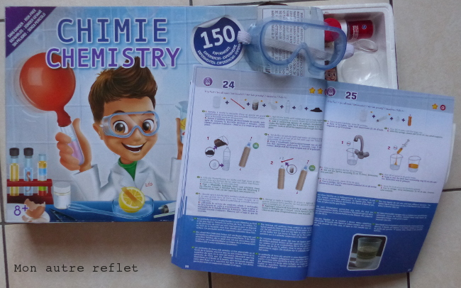 kit de chimie enfant