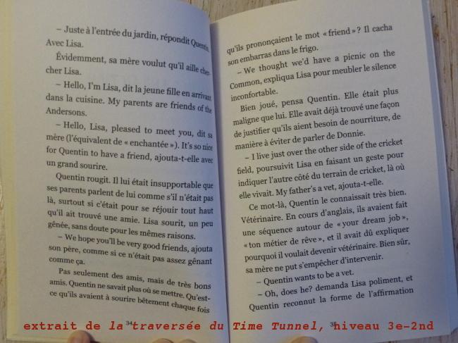 extrait livre bilingue niveau lycée
