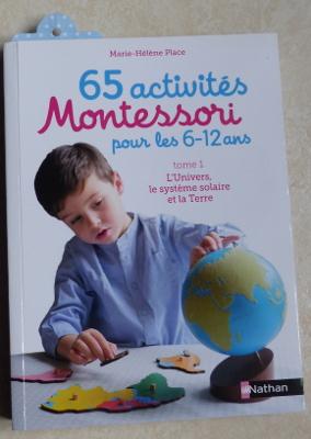 livre avec activités montessori