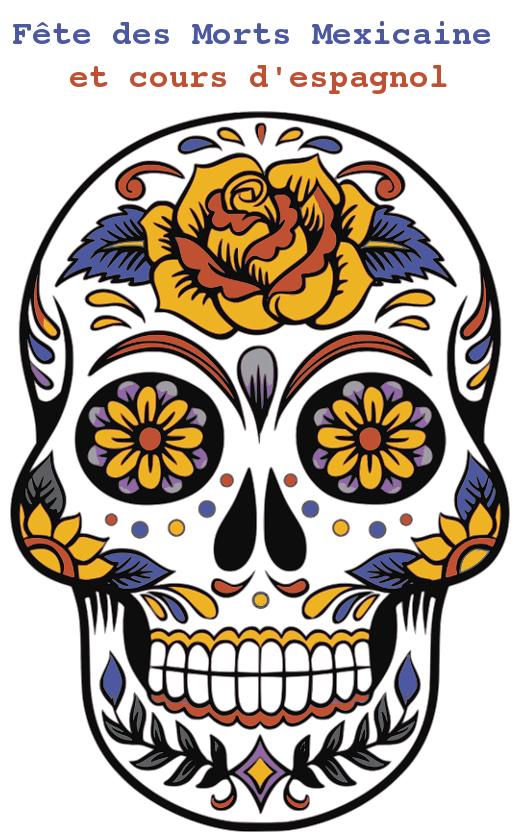 cours espagnol sur fête des morts