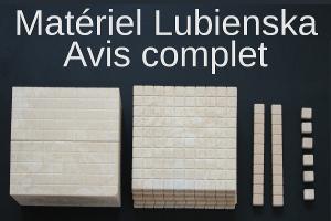 Avis complet sur le matériel Lubienska