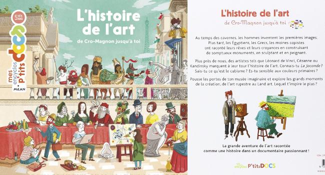 l'histoire de l'art pour enfants