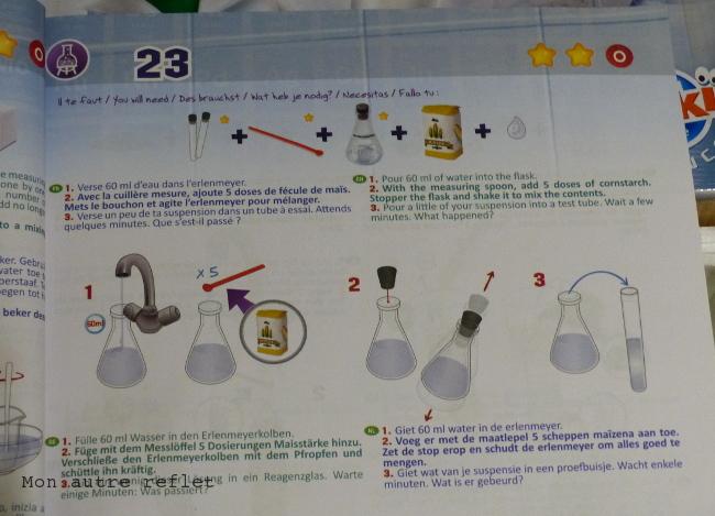 notice kit chimie Buki 150 expériences