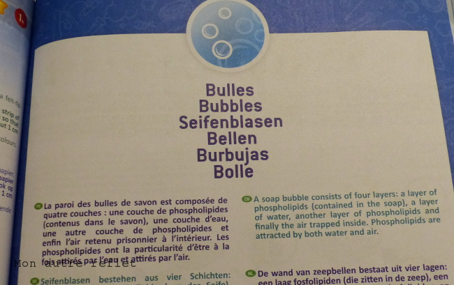 notice kit chimie Buki sans danger