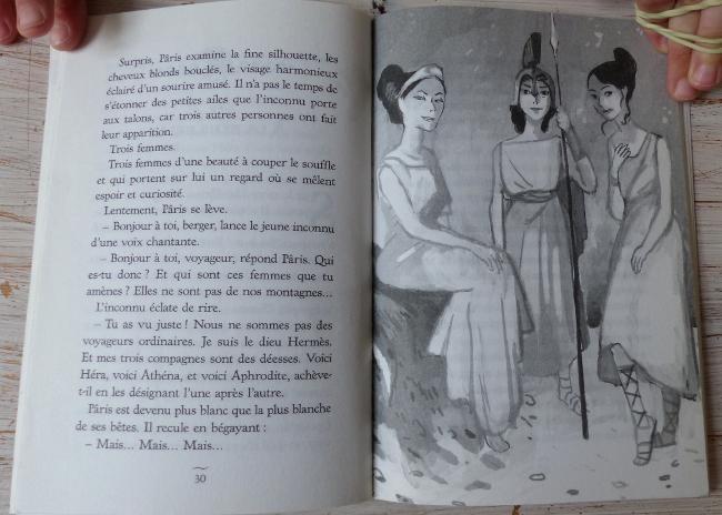 """extrait roman """"la belle Hélène"""" Nathan"""