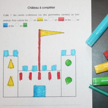 Découvrir les formes en maternelle