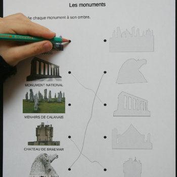 Discrimination visuelle sur les monuments d'Écosse