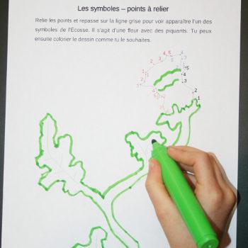 Points à relier et graphisme en maternelle