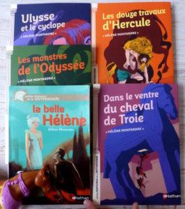 petit roman mythologie grecque Cycle 2 et 3