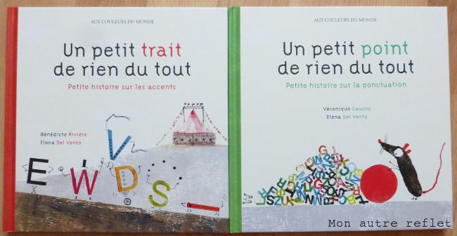 Deux livres ludiques de grammaire pour enfants