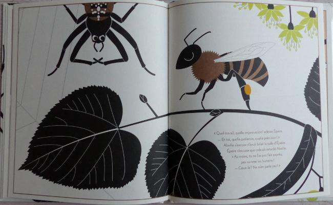 extrait abeille et épeire