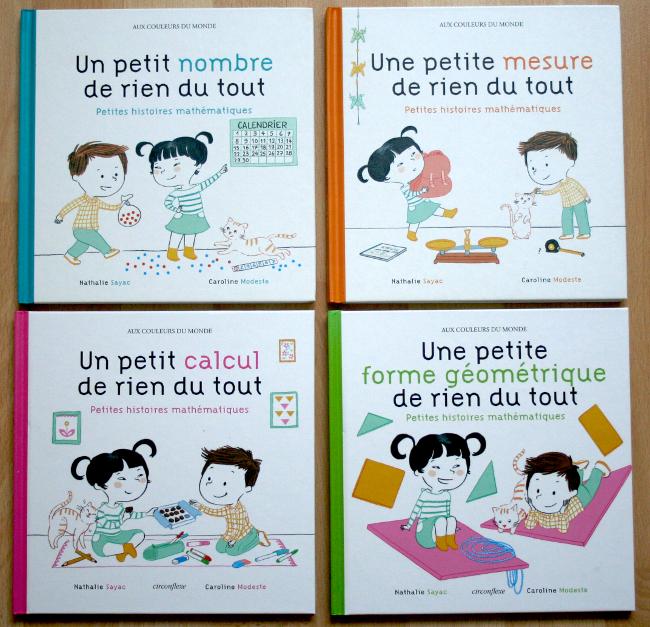 4 livres Petites histoires mathématiques