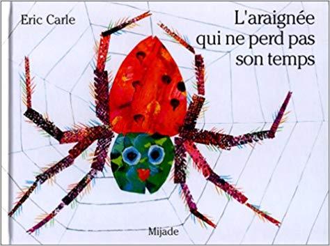 livre sur les araignées