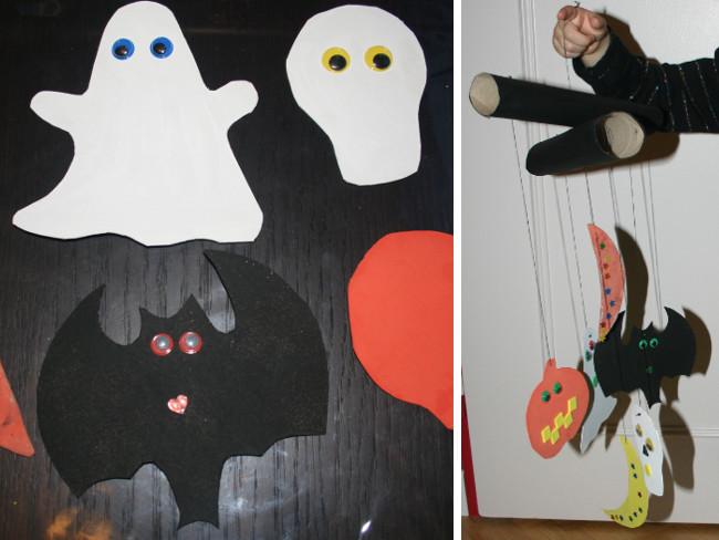 Bricolages faciles pour Halloween