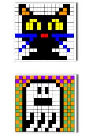 Pixel art Halloween