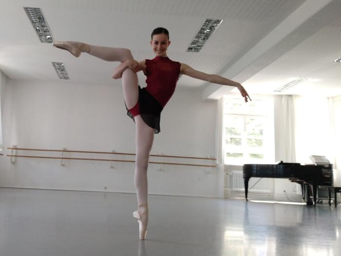 élève ballet de Hambourg