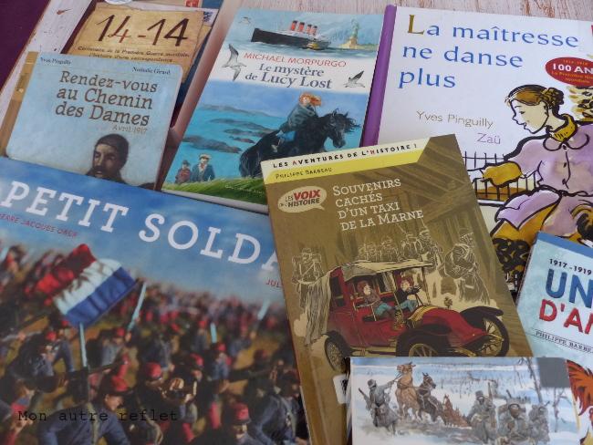Sélection livres sur la 1ere Guerre Mondiale