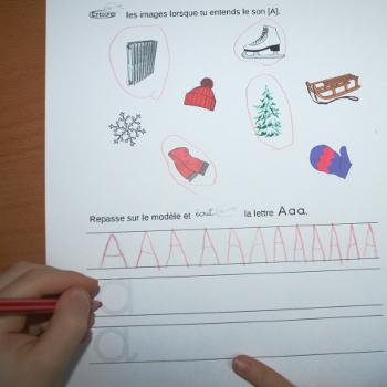 Phonologie et graphisme sur l'hiver