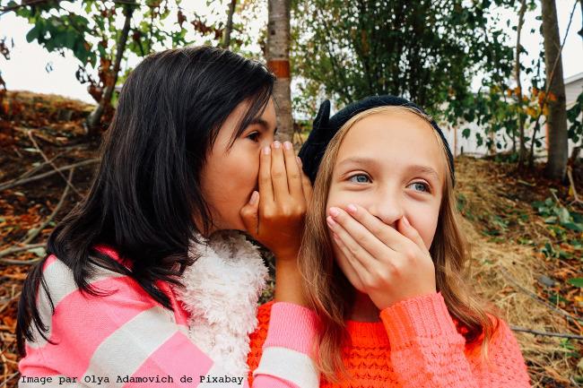 Garder un secret entre enfants