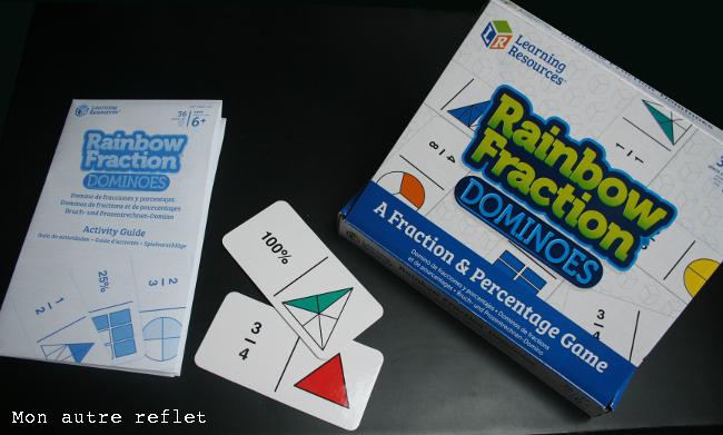 présentation dominos de fractions