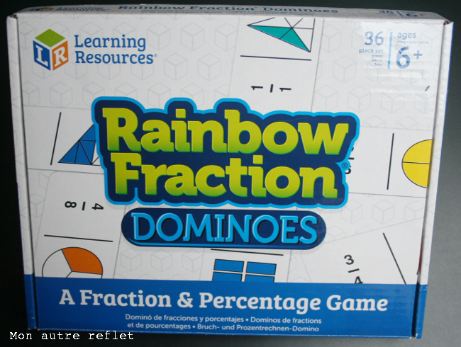 dominos de fractions Rainbow Fraction