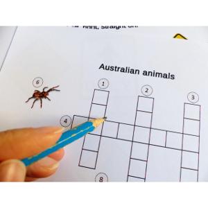 Mots croisés sur la faune australienne