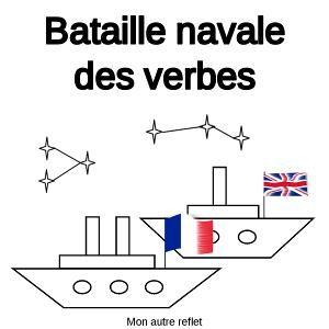 bataille navale des verbes français et anglais