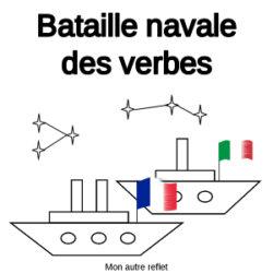 bataille navale des verbes français et italien