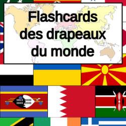 Flashcards des drapeaux du monde
