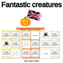 memory en anglais pour Halloween