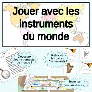 pack instruments de musique du monde