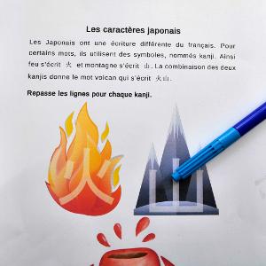 Apprendre à écrire en japonais