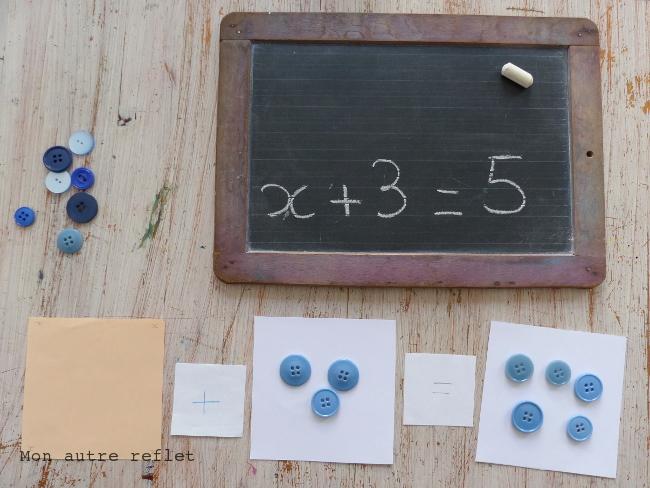 équation maths CE1
