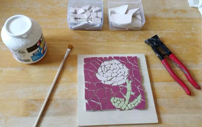 année en IEF : apprendre la mosaïque