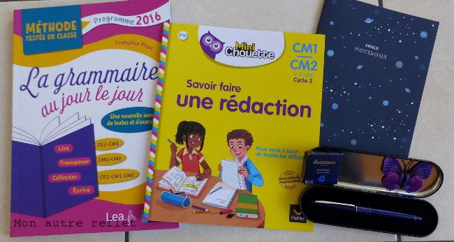 matériel IEF CM1 français