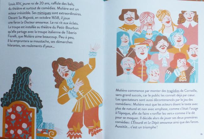 Extrait biographie Molière