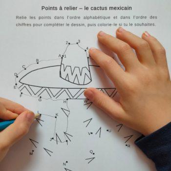Points à relier sur le thème du Mexique