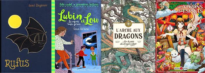 livres avec des monstres pour enfants