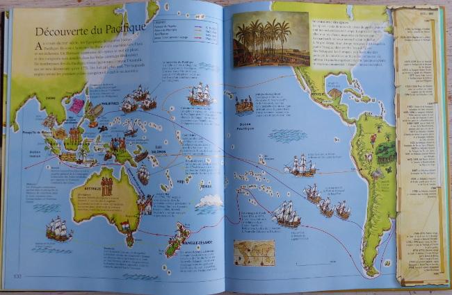 Beaux livres : encyclopédie histoire pour enfants