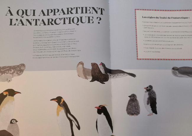 avis livre sur l'Antarctique