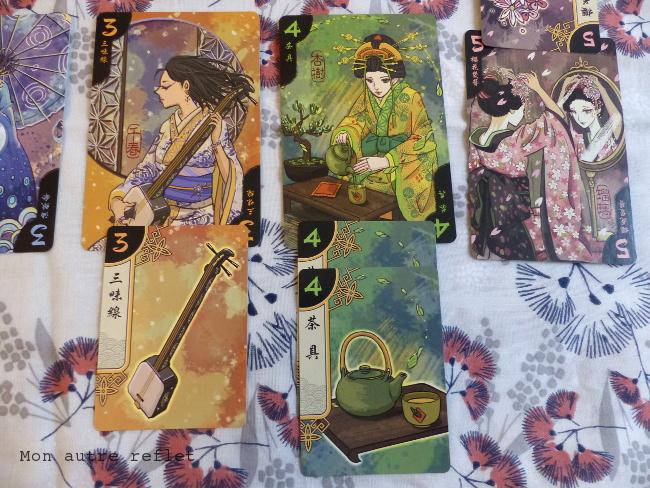 Jeu de cartes Hanamikoji